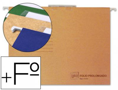 Carpeta colgante gio folio prolongado 43200 -tamaño 240x375 mm