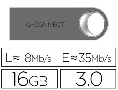 Memoria usb q-connect flash premium 16 gb 3.0