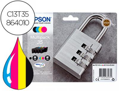Ink-jet epson 35 t3586 pro wf-4720dwf / 4725dwf / 4730dtwf / 4740dtwf multipack negro amarillo cian magenta