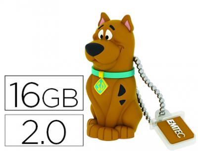 Memoria usb emtec flash 16 gb 2.0 scooby doo