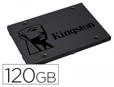 "Disco duro ssd kingston 2,5"" interno sa400s37 120 gb"