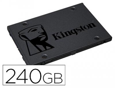 "Disco duro ssd kingston 2,5"" interno sa400s37 240 gb"