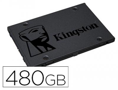 "Disco duro ssd kingston 2,5"" interno sa400s37 480 gb"
