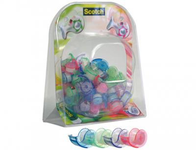 Expositor 3m minni bubble miniportarrollo scotch expositor de 144 unidades