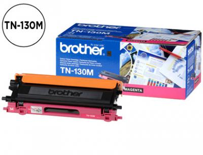 Toner brother tn-130m hl-4040cn/4050cdn/4070cdw dcp-9040/9045 mfc-9440/9840 magenta -1.500@5%-