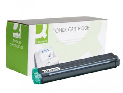 Toner q-connect compatible oki b4200 universal -2.500pag-