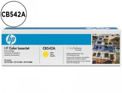 Toner hp cb542a color laserjet cp-1215/cp-1515/cp-1518 amarilo with colorsphere -1.400pag-