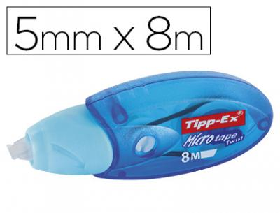 Corrector tipp-ex micro tape twist 5mm x 8m