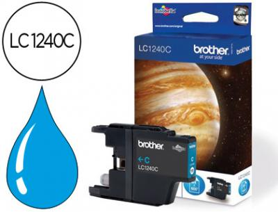 Ink-jet brother lc-1240c cian -600pag- mfc-j6510dw mfc-j6710dw mfc-j6910dw