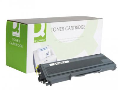 Toner q-connect compatible brother tn-2120 -2.600pag- negro