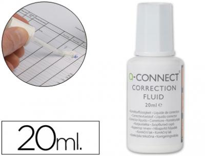 Corrector q-connect frasco 20ml aplicador pincel