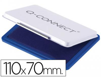 Tampon q-connect n.2 110x70 mm azul