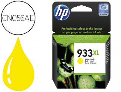 Ink-jet hp 933xl amarillo cn056ae officejet 6100/6600/6700 premium capacidad 825 pag