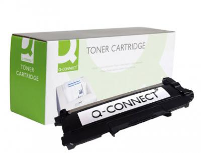 Toner q-connect compatible brother tn-2220 2.600pag negro