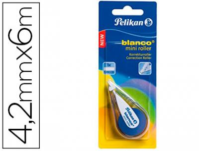 Corrector pelikan mini 4,2 mm x 6 m