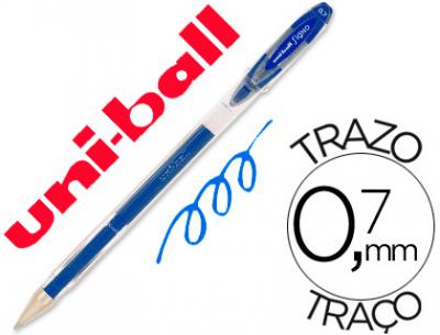 Boligrafo uni-ball roller um-120 signo 0,7 mm tinta gel color azul