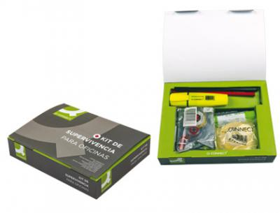 Kit de supervivencia para oficinas q-connect