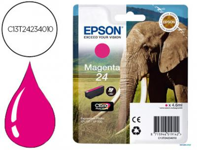 Ink-jet epson 24xp 750 / 850 magenta -360 pag-