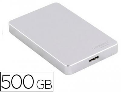 "Disco duro q-connect 3 "" externo 500gb usb 3.0"