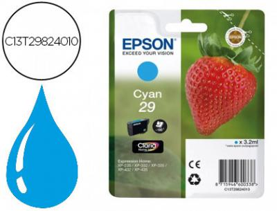 Ink-jet epson home 29 t2982 xp435/330/335/332/430/235/432 cian 175 pag