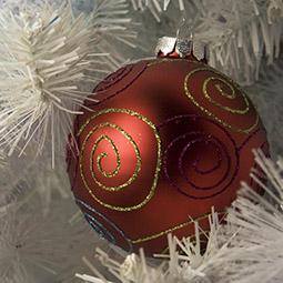 decoración navideña oficina