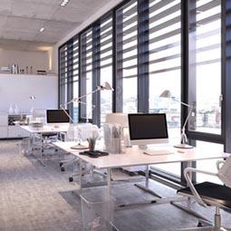 iluminacion de la oficina