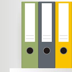 partes de un archivador